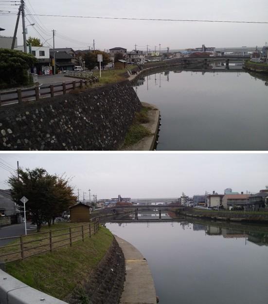 越谷宿 藤助河岸(越谷市)綾瀬川