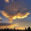 写真: 港区の空