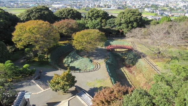 小山城(吉田町立 能満寺山公園)展望台より二の丸