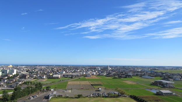 小山城(吉田町立 能満寺山公園)展望台より南