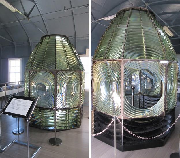 犬吠埼灯台(銚子市)初代レンズ