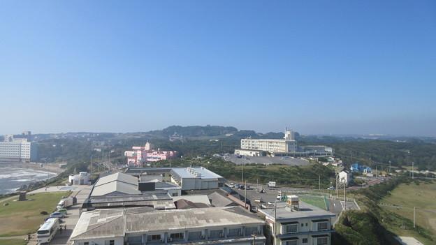 犬吠埼灯台(銚子市)地球が丸く見える丘公園