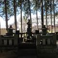 恵林寺(甲州市小屋敷)武田信虎墓