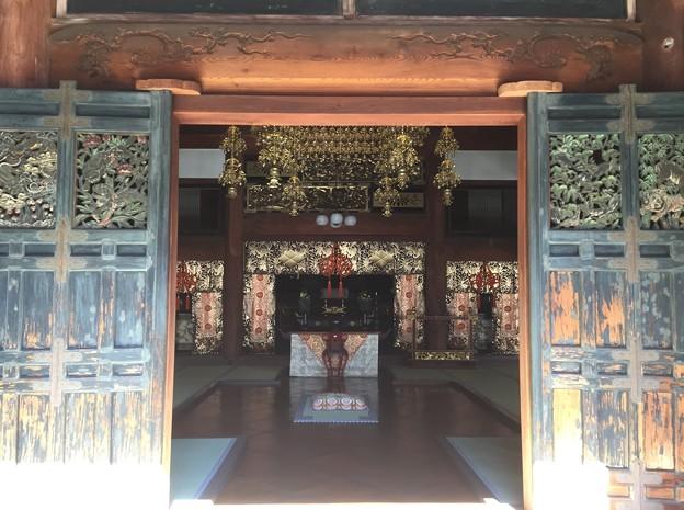 恵林寺(甲州市小屋敷)本堂(方丈)