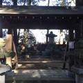 恵林寺(甲州市小屋敷)柳沢夫妻墓所