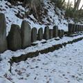 安国寺墓所(干沢城跡。茅野市)