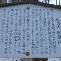 安国寺墓所 夢窓疎石墓(干沢城跡。茅野市)