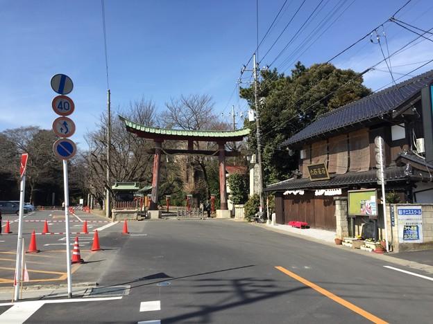 鷲宮神社(久喜市)大鳥居