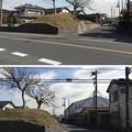 騎西城(加須市)外堀土塁