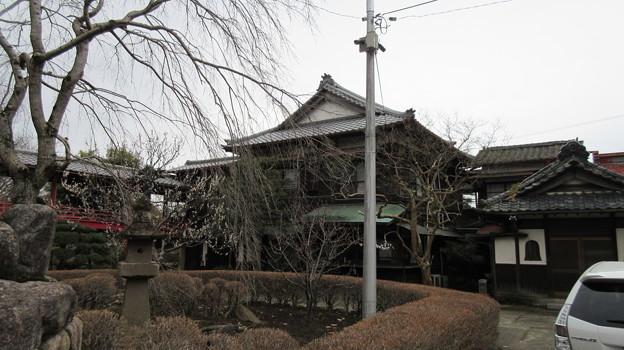 二十三夜尊 桂岸寺(水戸市)本堂?