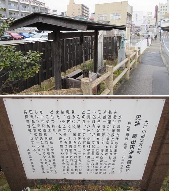 藤田東湖生誕地(水戸市)