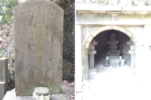 毛利季光墓(鎌倉市)