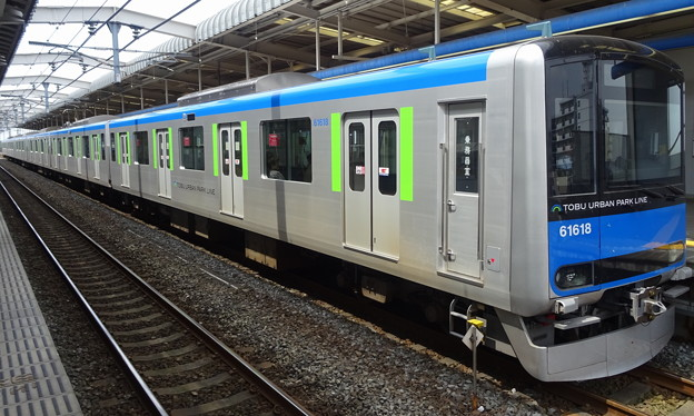 東武アーバンパークライン(野田線)60000系(第33回エプソムカップ当日)
