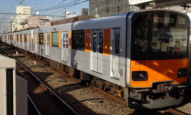 東武鉄道50070系 Fライナー東横特急