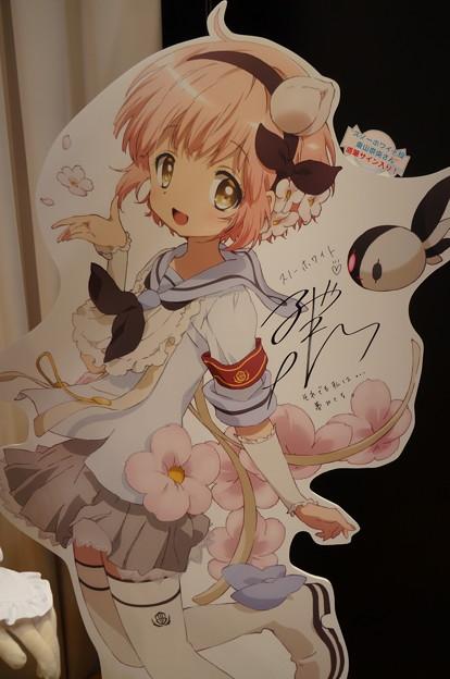 C3 TOKYO2016 魔法少女育成計画 スノーホワイト サイン入りスタンディ