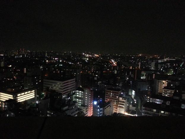 北とぴあ 展望室からの夜景