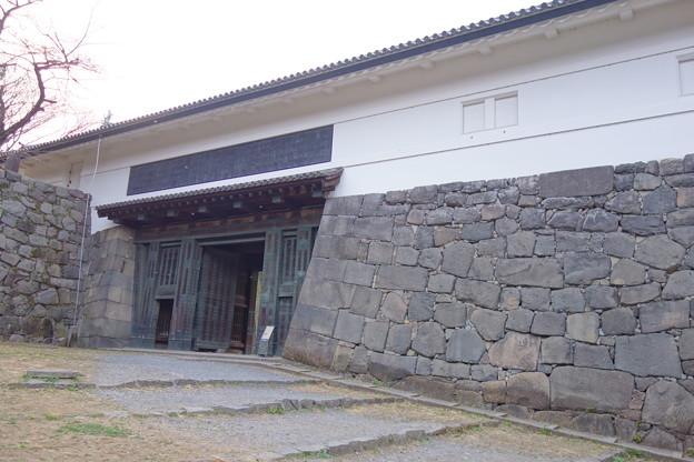 皇居外苑 清水門高麗門
