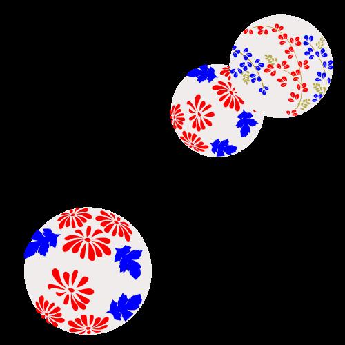 パターン_秋草3