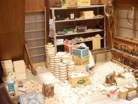 ミニチュアハウス 桶職人の部屋