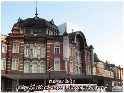 東京駅と皇居1