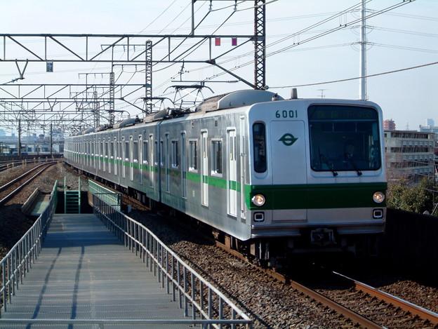 千代田線6101F(C#6001) 2003.1.26