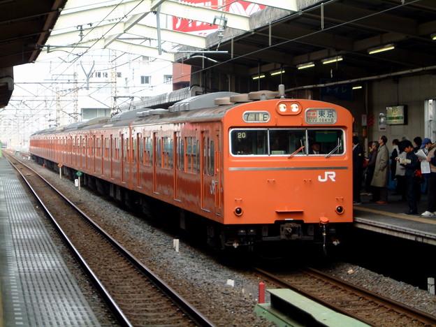 #732 武蔵野線103系 八トタ20F 2003-2-23