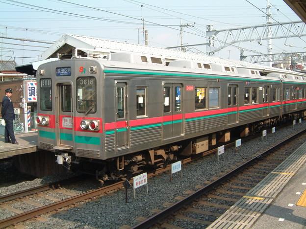 芝山鉄道クハ3618 2003-2-26