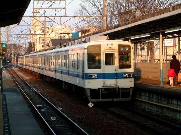 東武鉄道8000系8151F 2003-2-9