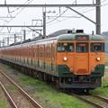 Photos: 千マリ113系湘南色117F+S62F 2011-5-1/3
