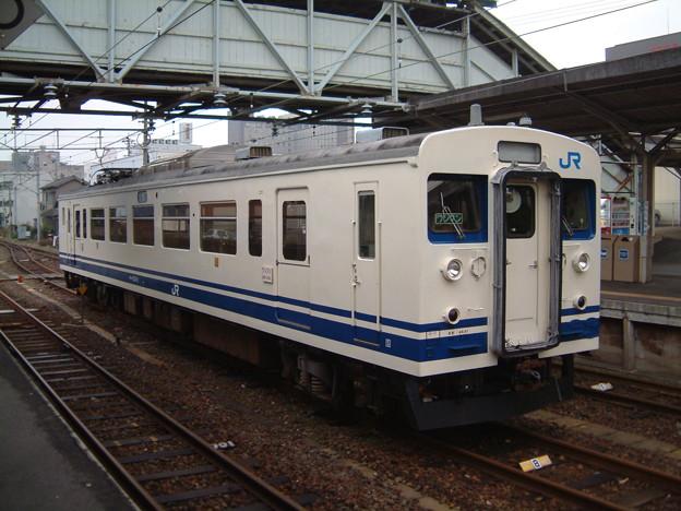 宇部線・小野田線クモハ123-2 2003-01-11/4