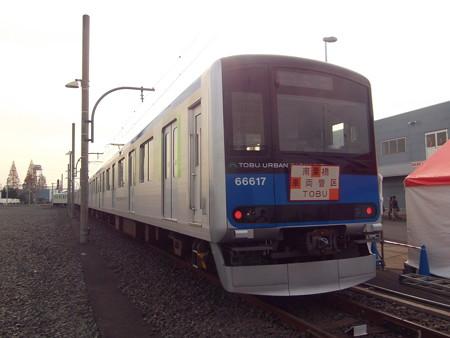 東武鉄道61617F(クハ66617) 2016-12-4