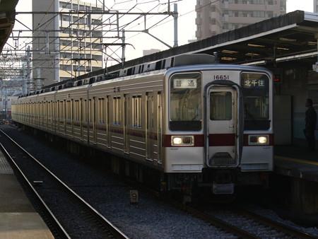 東武鉄道11651F(クハ16651) 2016-12-4