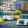 写真: 師走の街。