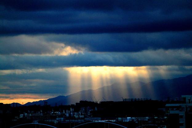Photos: 天使の梯子ー2