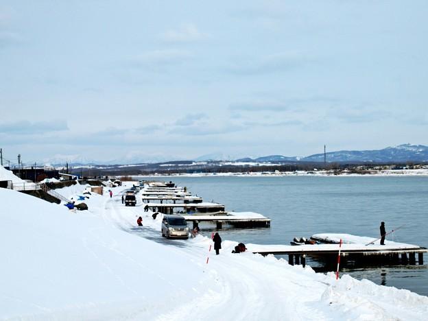 冬の石狩川