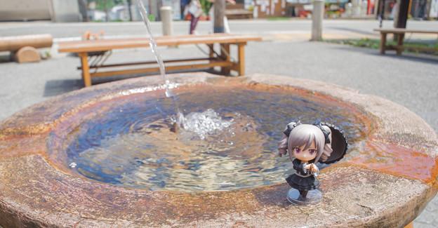 湧き出る生命の泉