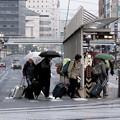 写真: ~間もなく電車が来ます~