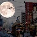 写真: ~どうじゃ!これがヒロシマの「超〃〃SuperMoon」じゃ~!!~( `ー´)ノ