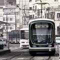 写真: ~路面電車はIron Man~~~~うへへ~(´-ω-`)