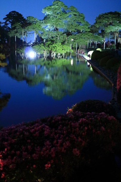 唐崎松 霞が池