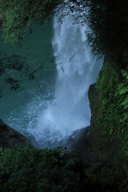 綿ヶ滝 滝壺
