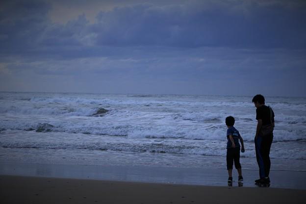 写真: 荒れる日本海(2)