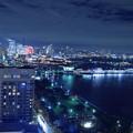 横浜マリンタワーから みなとみらいの夜景