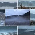 晩秋の仙石原   雪と霧