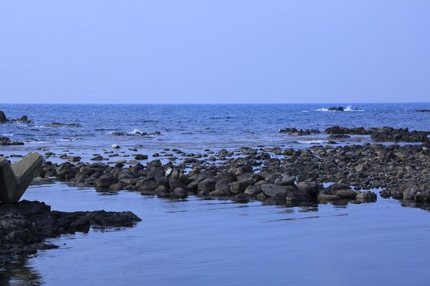 写真: 能登の海 輪島・大泊