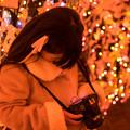Photos: 可愛いカメラ女子
