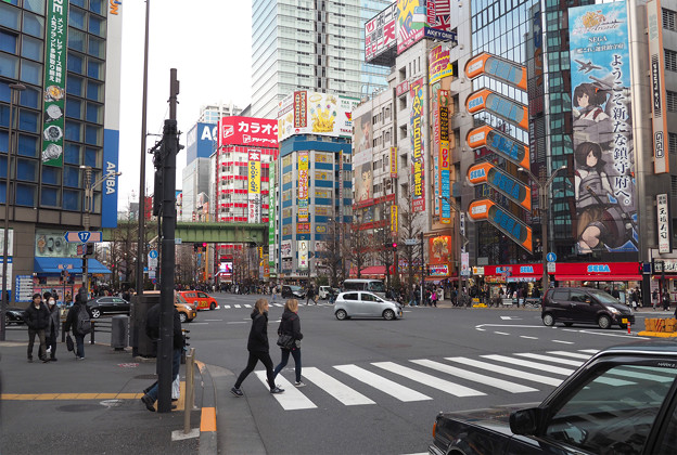 写真: 秋葉原