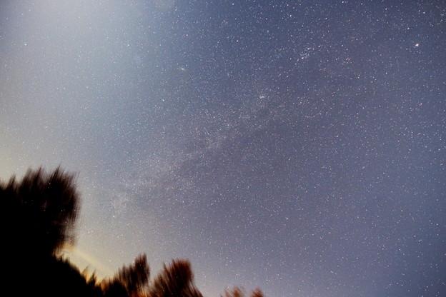 2015年12月19日 銀河系 白鳥座方面からペルセウス腕