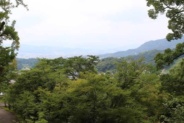 竈門神社からの景色