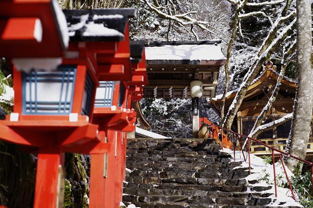 貴船神社の冬